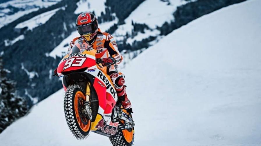 Със състезателен мотор из Австрийските Алпи