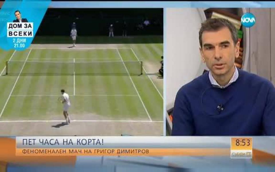 a4fcdf0a9cc Мениджърът на Григор: Той ще продължи напред и ще му се отрази добре - Тенис  - Голям шлем - Gong.bg