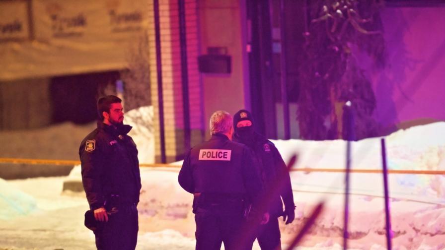 Атентат в джамия в Квебек, убити и ранени