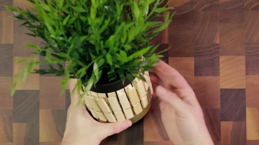 Няколко страхотни идеи със скучните дървени щипки