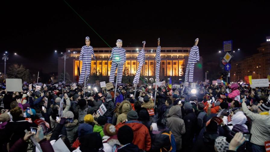 Поредна нощ на протести в Румъния