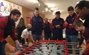 Везенков и компания зарадваха малчугани<strong> източник: twitter.com/FCBbasket</strong>