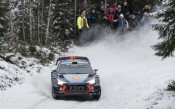 Hyundai в подготовка за рали Швеция