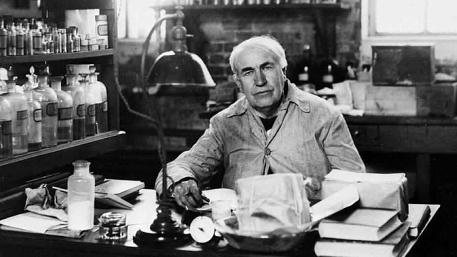 Спорни изобретения: Томас Едисън и крушката