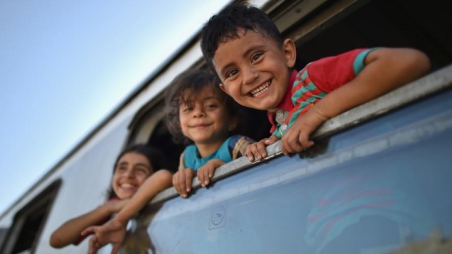 Деца-мигранти (архив)