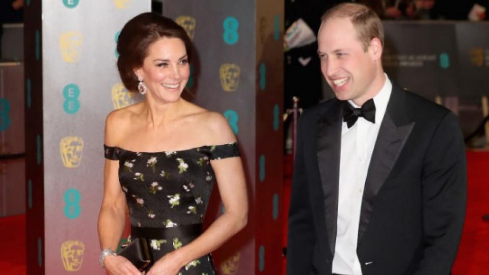 Истинска принцеса: Кейт Мидълтън засенчи всички звезди на наградите БАФТА
