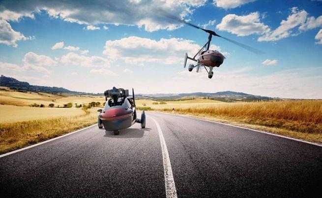 Първата серийна летяща кола струва 500 000 евро