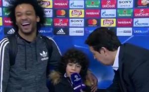 Марсело и бийтбоксшоуто със сина му
