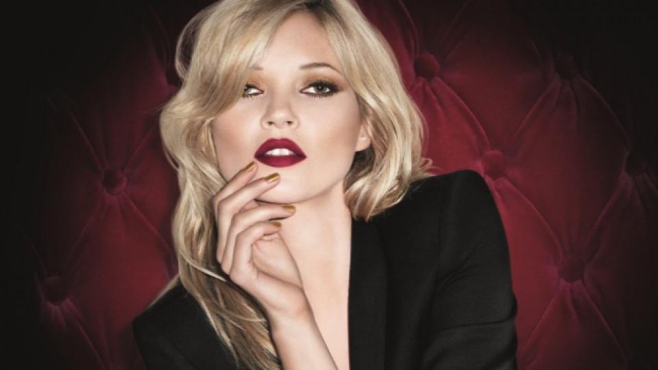 """Лицето на модния хамелеон Кейт Мос краси колекцията """"Metamorphosis"""" на """"Rimmel"""""""