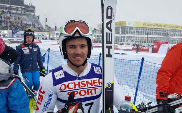Алберт Попов след финала в Санкт Мориц източник: БФ Ски