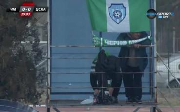 Крадец на топки се прояви на Черно море - ЦСКА