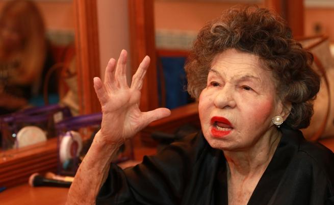 Неостаряваща: Стоянка Мутафова 70 години на сцена