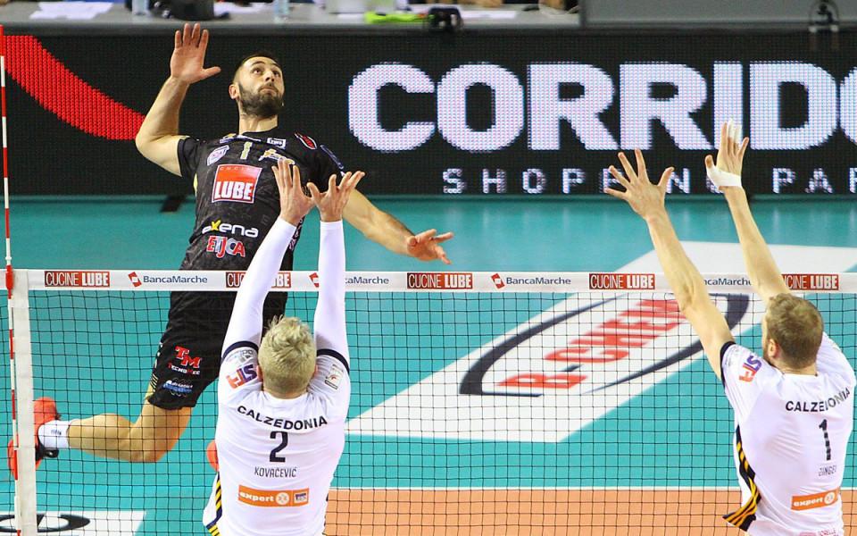 Цветан Соколов и Лубе завършиха като лидер в редовния сезон