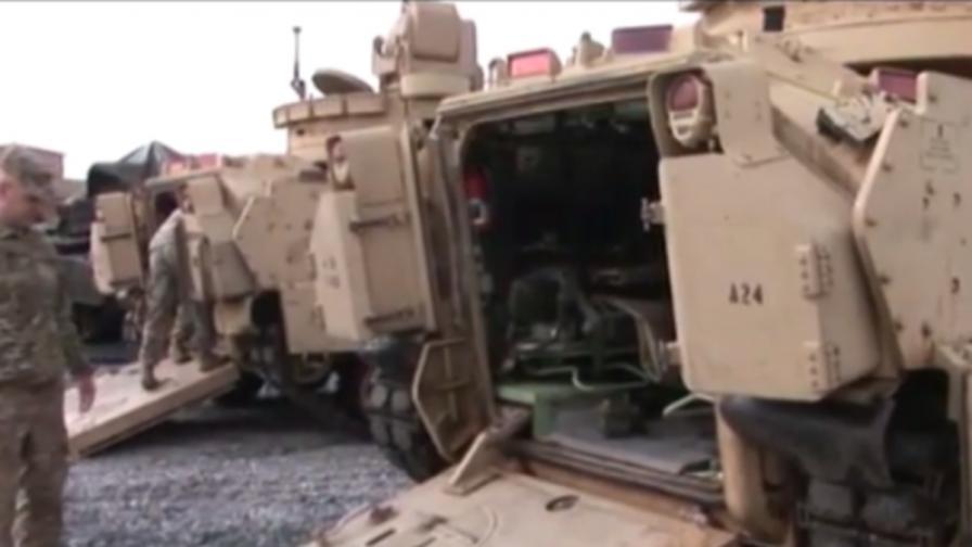 САЩ ни пратиха най-известните танкове край Ново село