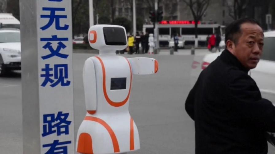 Робот-полицай, лови нарушители в Китай