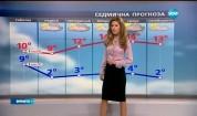 Прогноза за времето (24.02.2017 - централна емисия)
