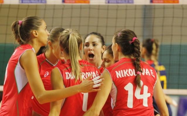 Волейболен национален отбор жени<strong> източник: www.volleyball.bg</strong>