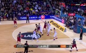 ЦСКА задълбочи кризата в Барселона, Везенков със силен мач