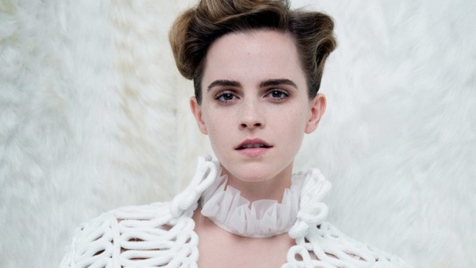 Ема Уотсън в провокативна фотосесия за Vanity Fair