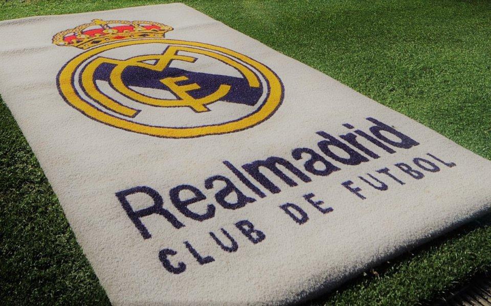 Футболистите на Реал се пуснаха на баскетбол