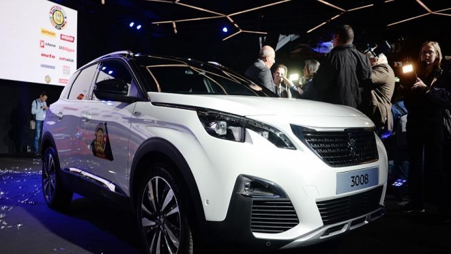 """Peugeot 3008 е """"Автомобил на годината в Европа"""""""