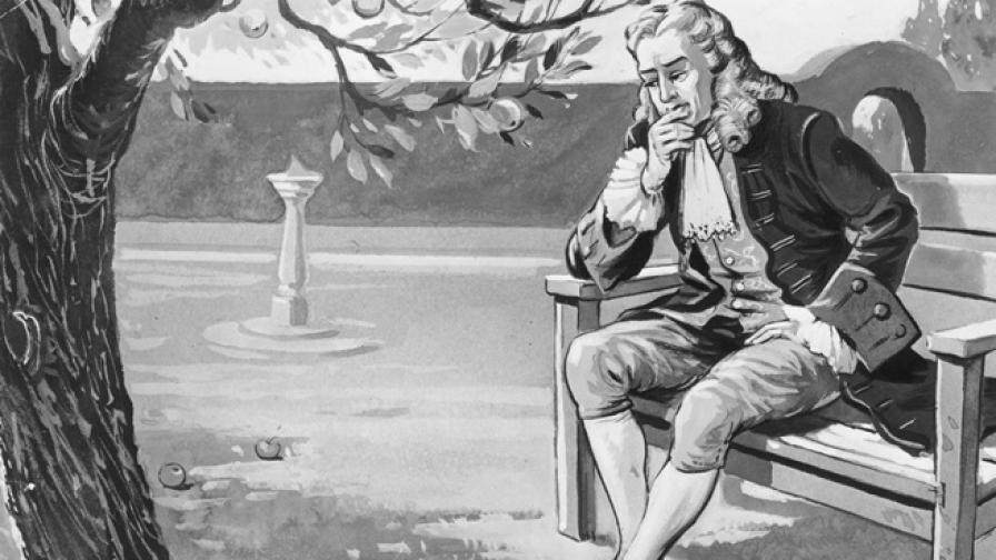 Наистина ли върху главата на Нютон е паднала ябълка