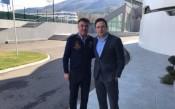 Президентът на БФС се срещна с маркетингов шеф на УЕФА