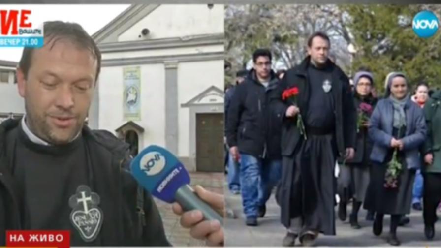 Заплахи за свещеник, приютил бежанци в Белене