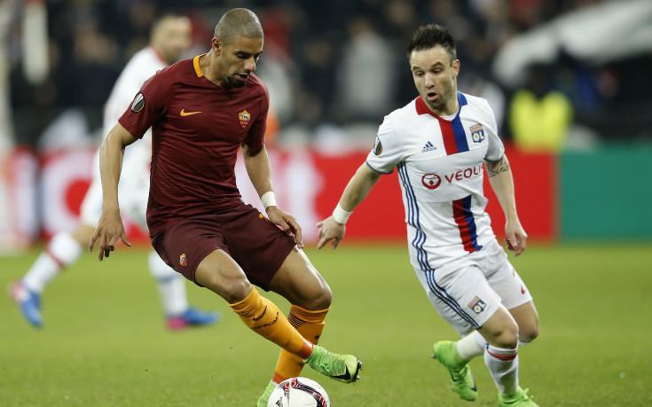 Лион препарира Рома за едно полувреме