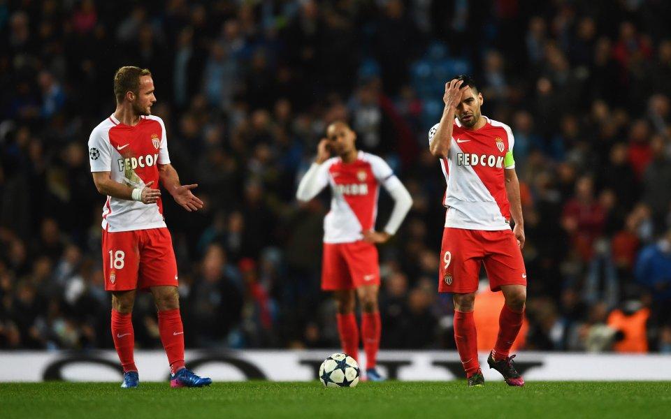 Удар за Монако: Фалкао под въпрос за мача със Сити