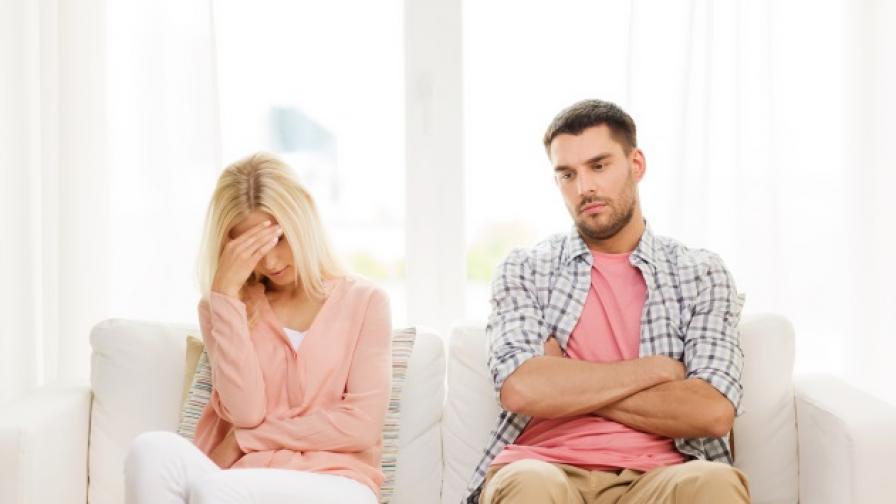 Не правете тези огромни греши по време на развод