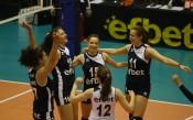 Волейболистките на Левски на полуфинал за Купата