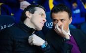 Луис Енрике подкрепи идеята Унсуе да го замени начело на Барселона