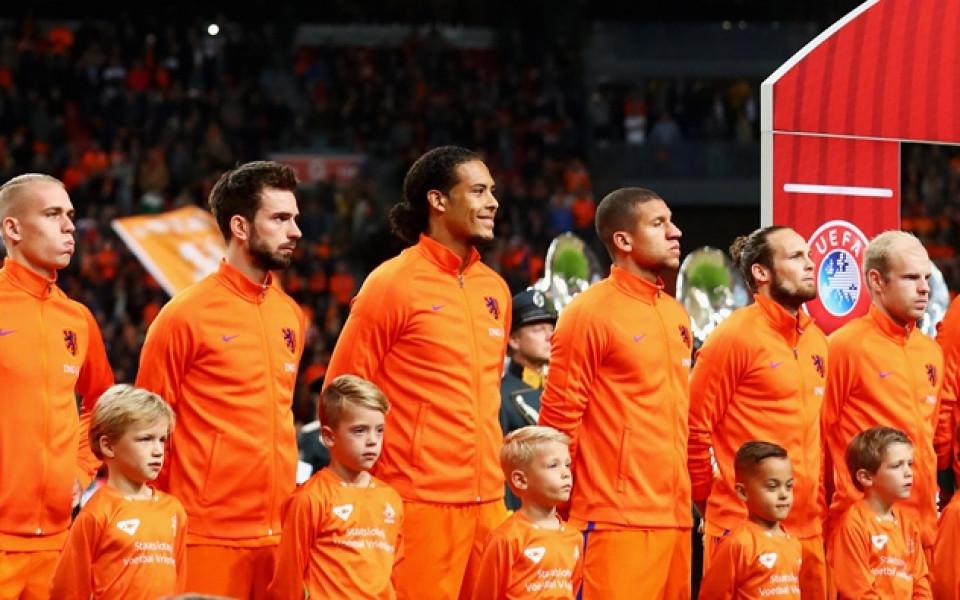 Ясно е кога пристига Холандия за мача с България