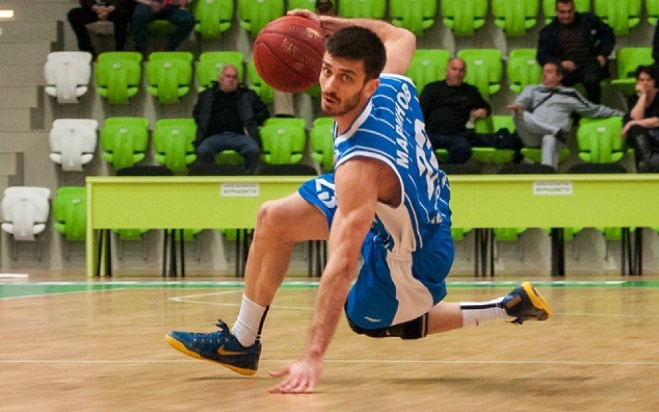 Маринов остава в баскетболния Балкан