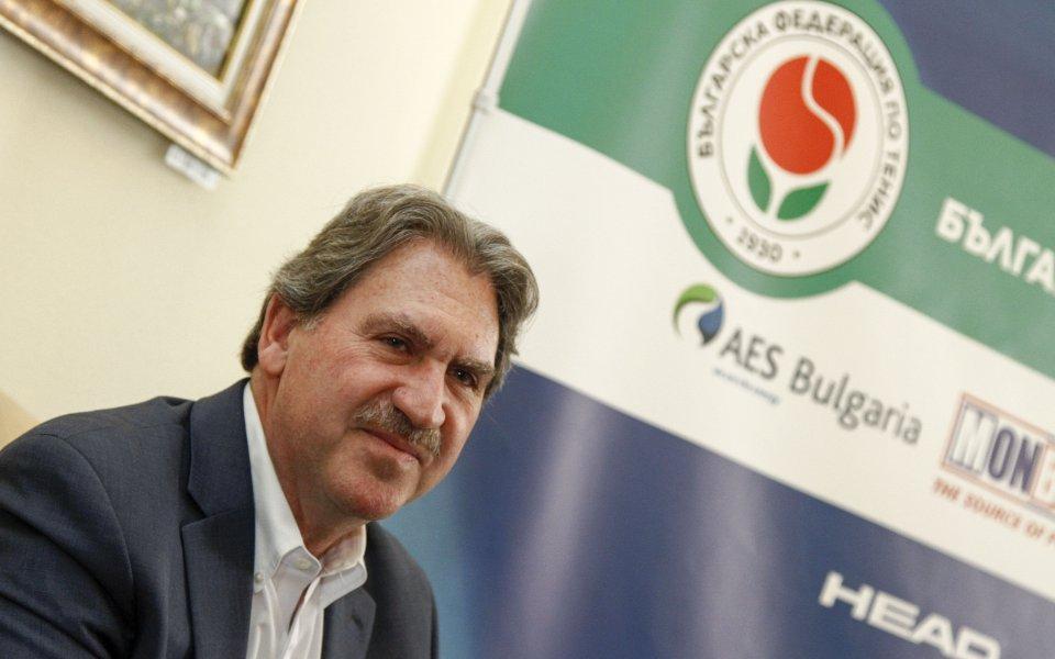 Шефът на световния тенис идва отново в България