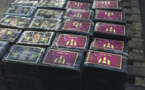 Невероятно: Над 1000 кг кокаин скрити под Меси