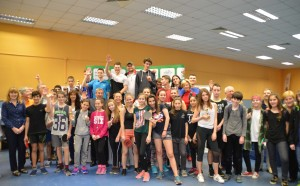 Ново тенис на маса шоу и над 200 младежи в Открития шампионат на София