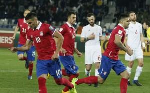 Обрат запази мечтите на Сърбия за Световно
