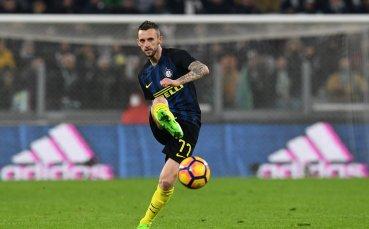 Полузащитник на Интер аут за мача с Каляри