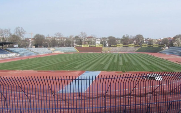 Градският стадион в Русе източник: topnovini.bg