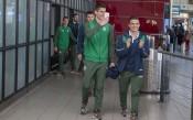 Страхотно посрещане за юношите в София