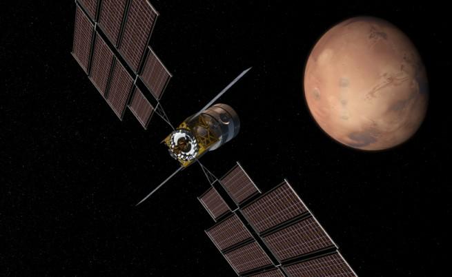 Транспортната капсула за пътуванията до Марс