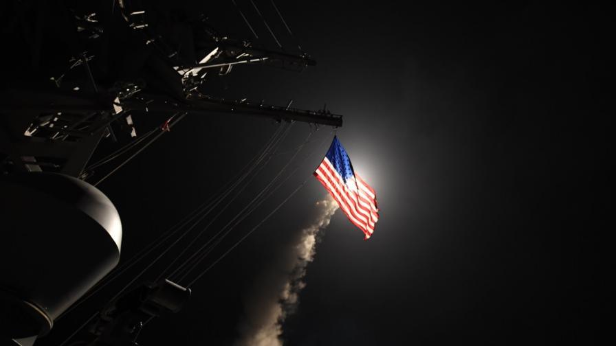 Ударът на САЩ по сирийско летище