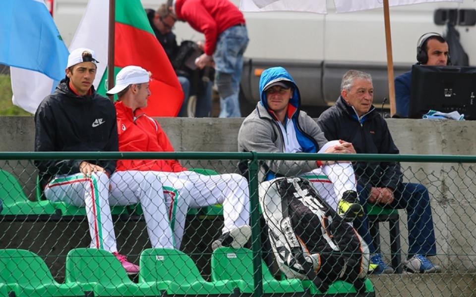 България - Гърция ще определи победителя в групата за Купа Дейвис
