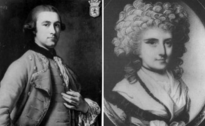 Мери Боулс и първият ѝ съпруг Джон Лион