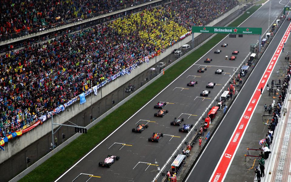 Китай ще остане поне още три години във Формула 1