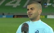 Самир Аясс: Играем отлично срещу Лудогорец