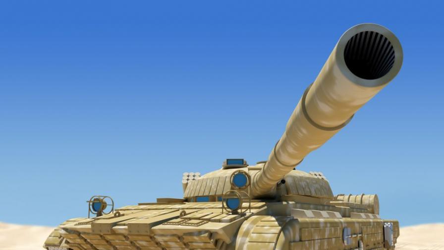 Мъж си купи танк и намери скрито злато за 2 млн. паунда