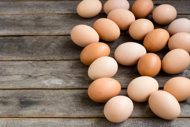яйца варене Великден